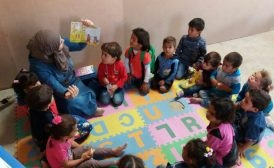 Politician empowers refugee children's centre